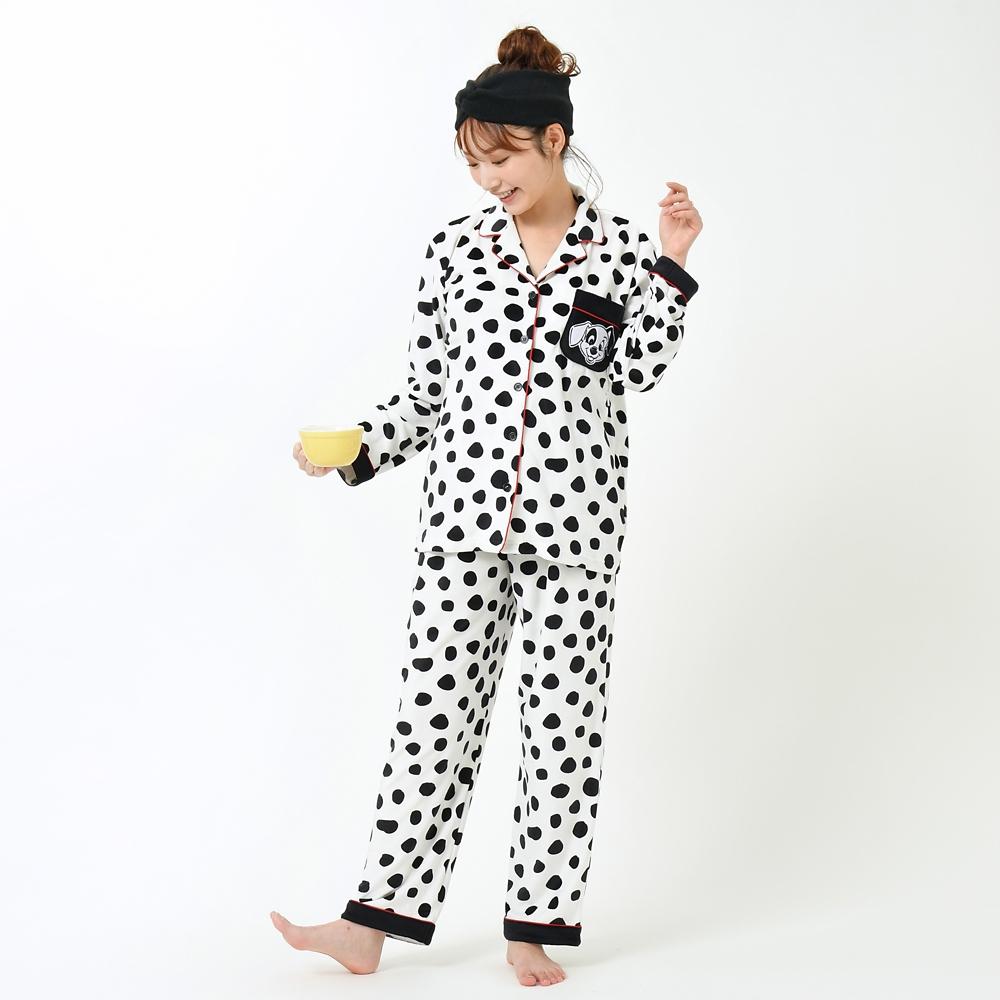 【送料無料】101匹わんちゃん 長袖パジャマ 101 Dalmatians