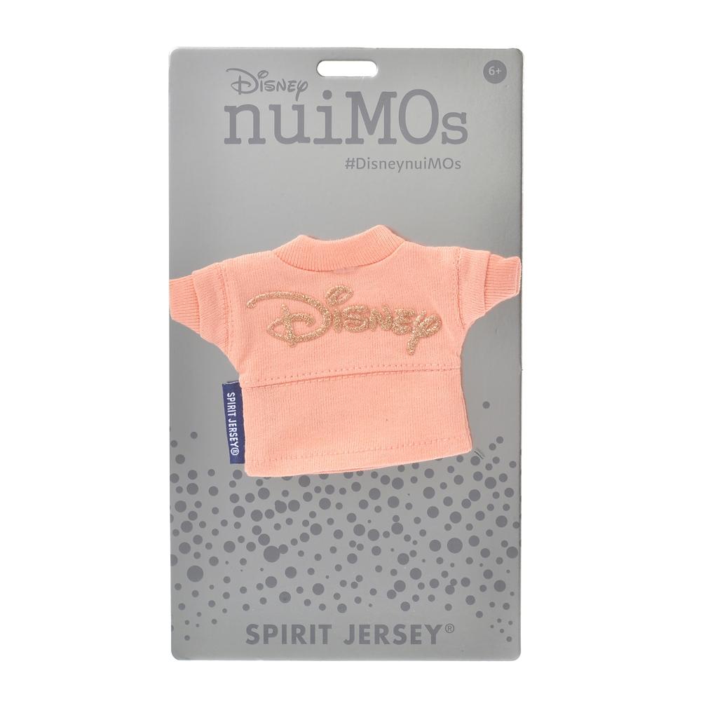 【Spirit Jersey】nuiMOs ぬいぐるみ専用コスチューム 長袖Tシャツ Disneyロゴ