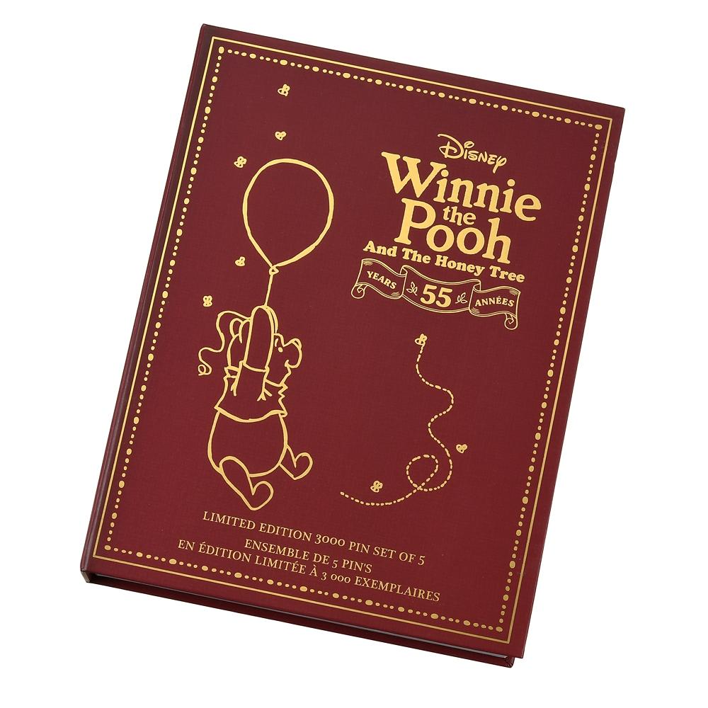 くまのプーさん ピンバッジ セット Winnie the Pooh And The Honey Tree 55th Anniversary