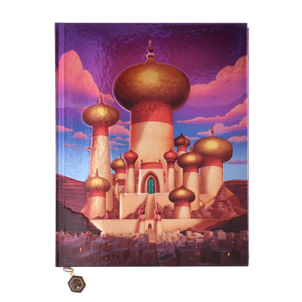 アラジン ノートブック ポスター付き 宮殿 Disney Castle Collection
