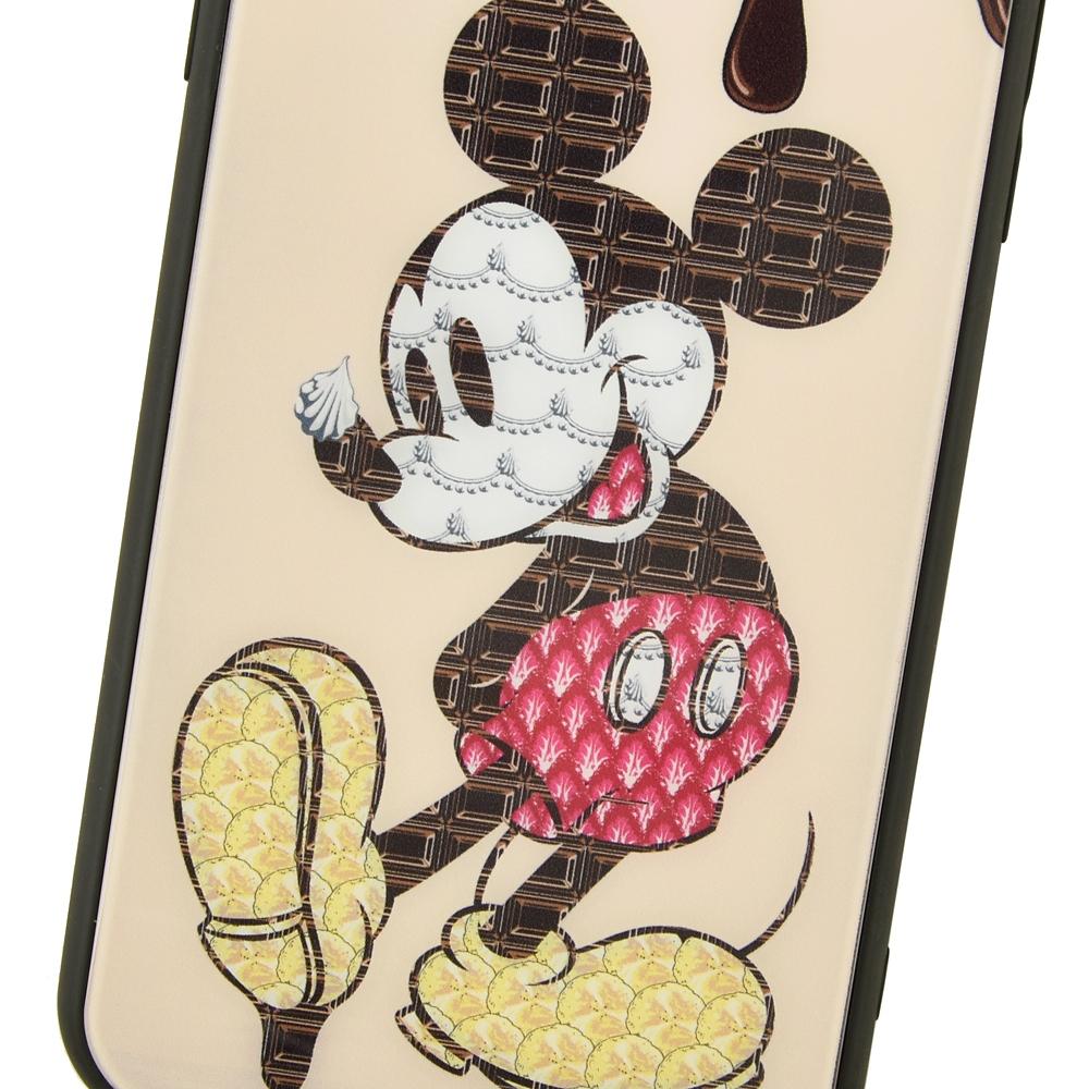【キューポット】ミッキー iPhone X/Xsケース