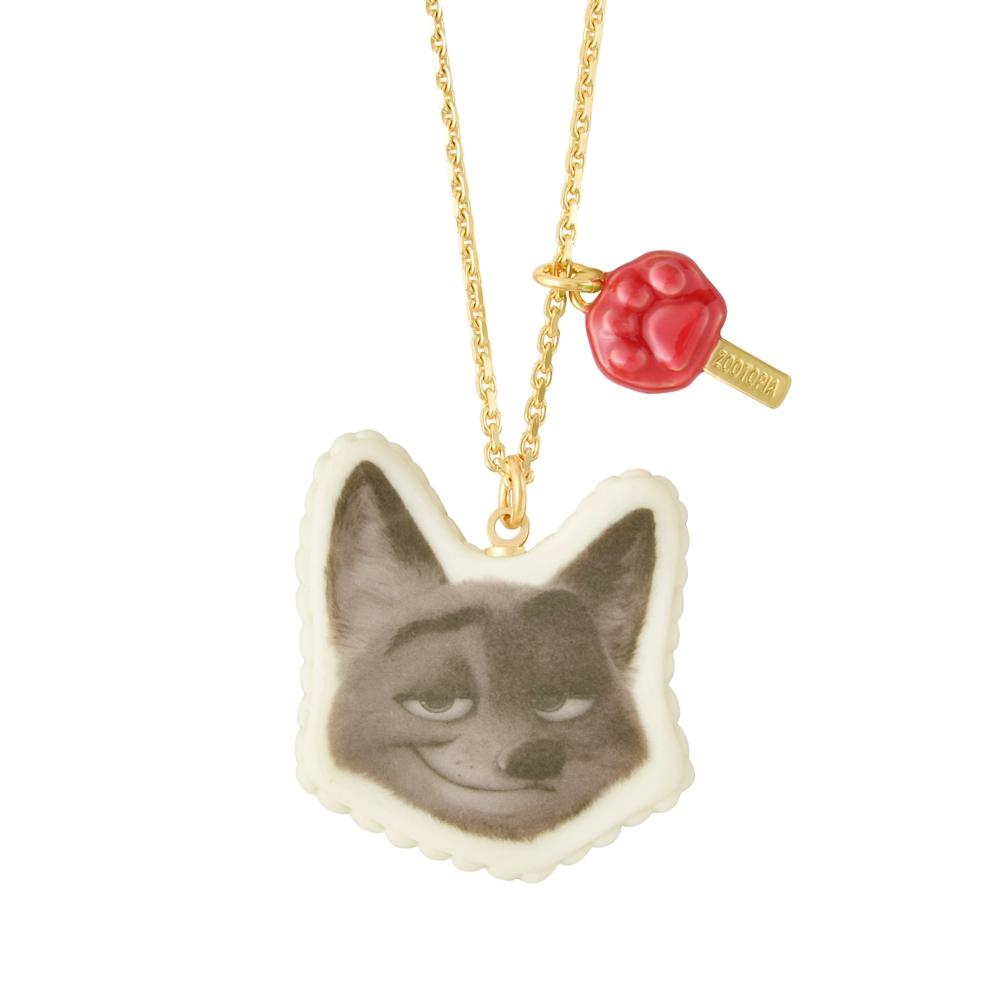【キューポット】ズートピア ニック/ネックレス キャロットケーキ