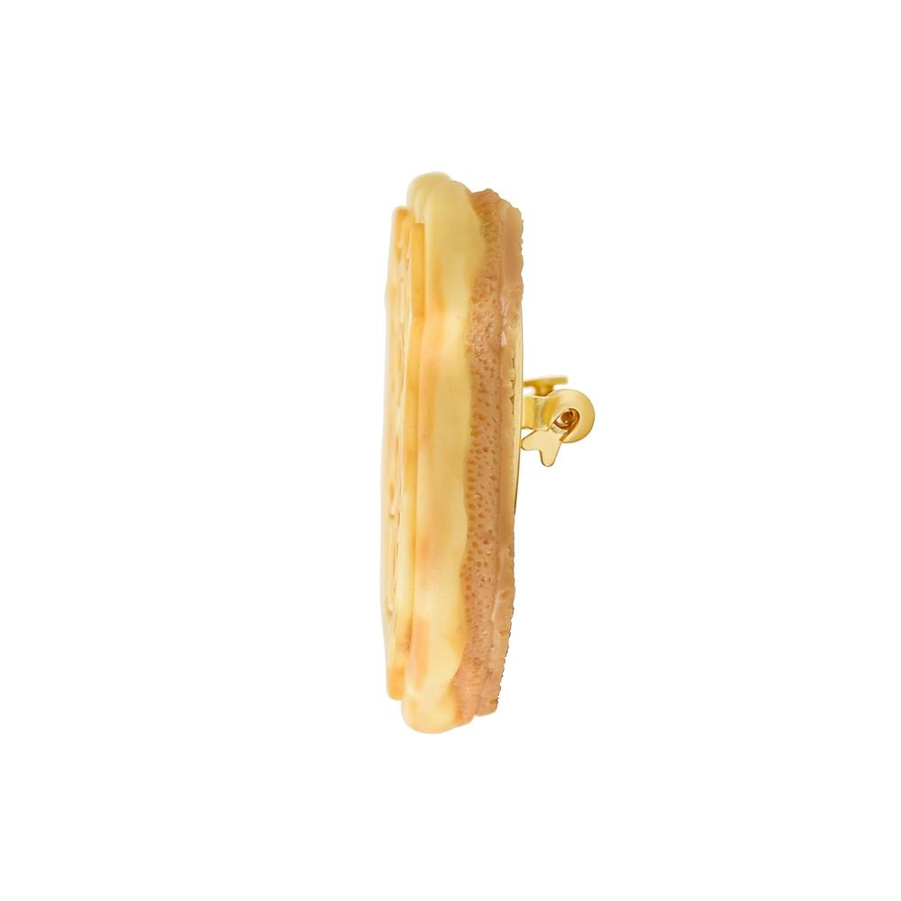 【キューポット】ズートピア 警察バッジ/ブローチ クッキー 【受注生産】