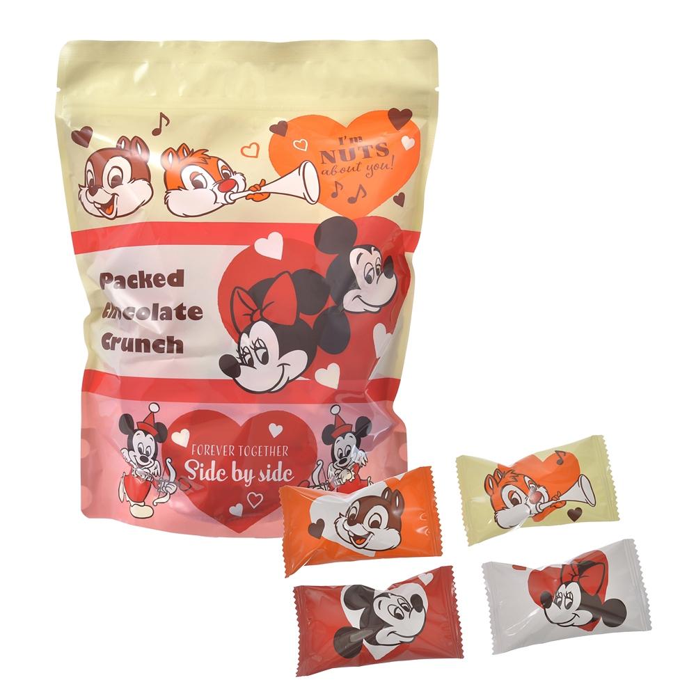 ミッキー&フレンズ クランチチョコレート Valentine Pop