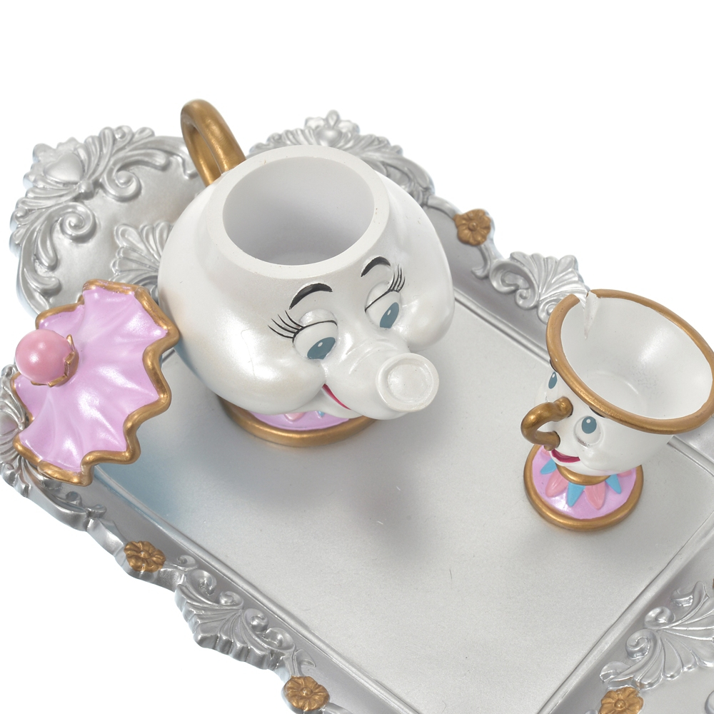 ポット夫人とチップ 小物入れ 美女と野獣 Story Collection