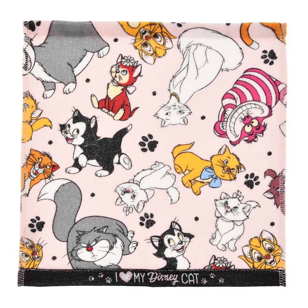 ディズニーキャラクター ミニタオル I Love MY Disney CAT