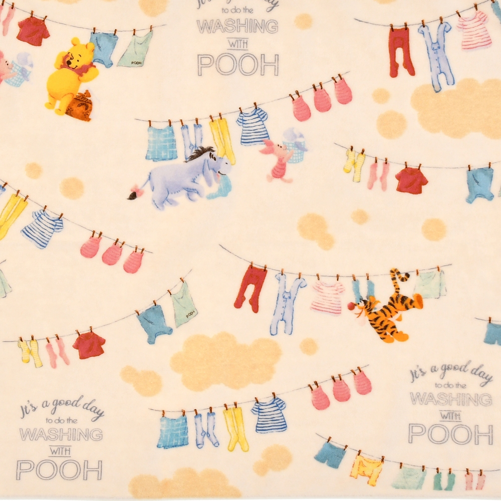 プー&フレンズ バスタオル Pooh's Bath