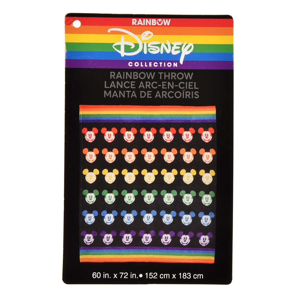ミッキー ブランケット 大判 The Walt Disney Company's Pride Collection