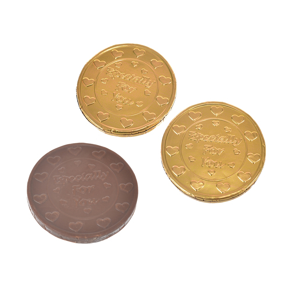 ハム チョコレート コイン型 Ever Green