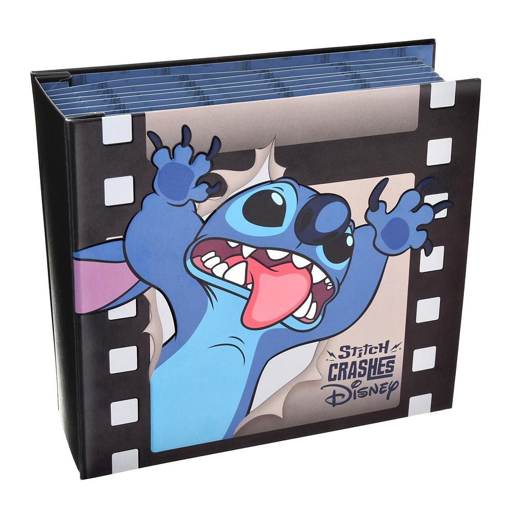 スティッチ ピンバッジコレクターブック ピンバッジ付き Stitch Crashes Disney