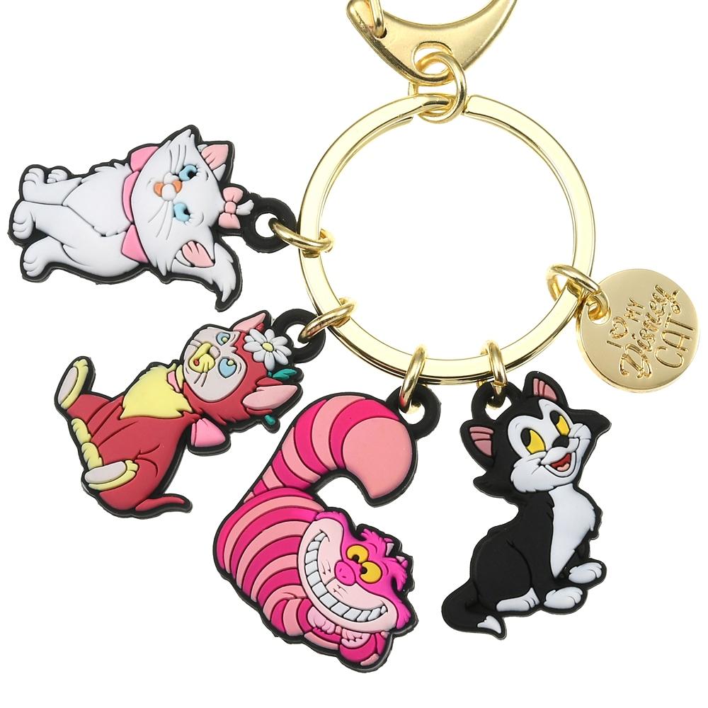 ディズニーキャラクター キーホルダー・キーチェーン I Love MY Disney CAT
