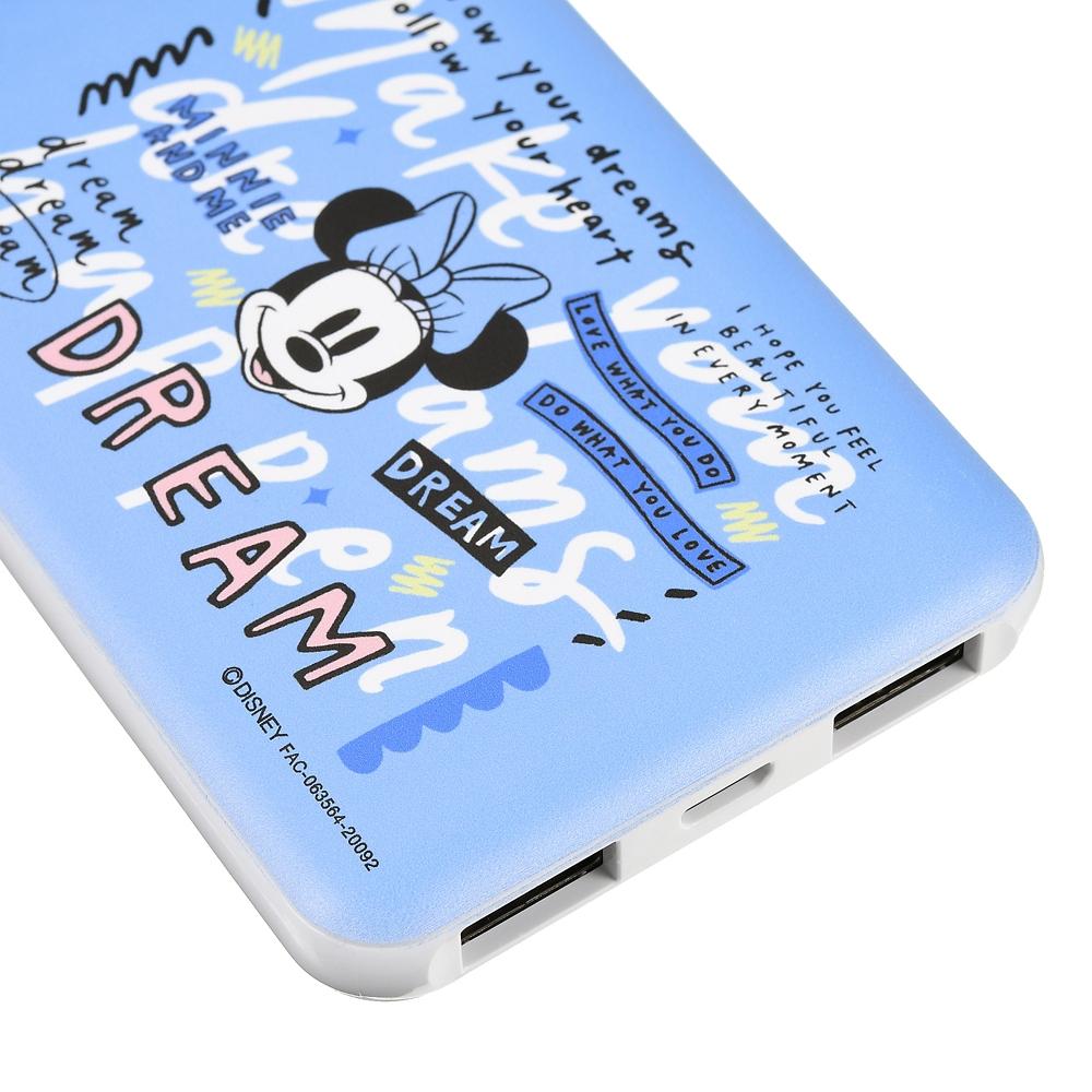 【送料無料】ミニー モバイルバッテリーチャージャー Disney ARTIST COLLECTION by Kelly Park