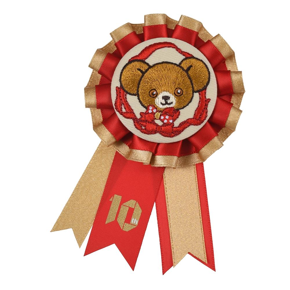 ユニベアシティ モカ ピンバッジ ロゼット UniBEARsity 10th Anniversary