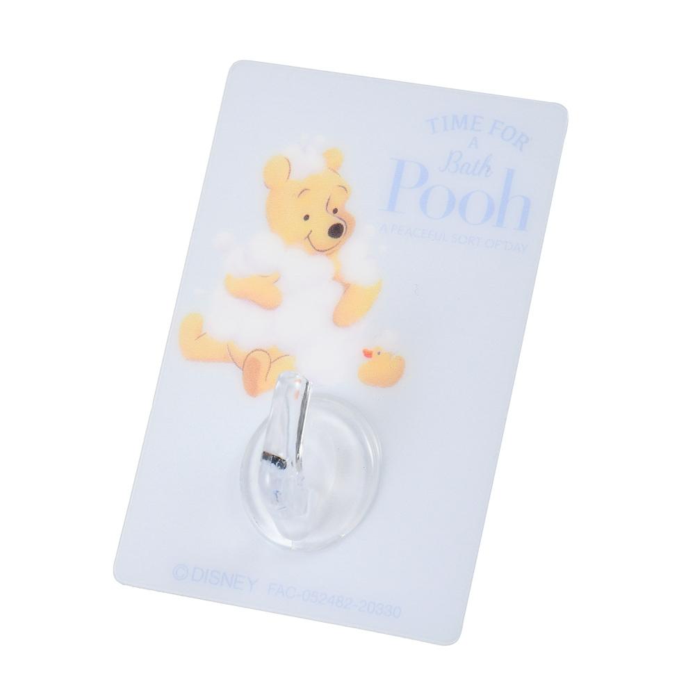 プーさん フック シールタイプ 貼ってはがせる Pooh's Bath