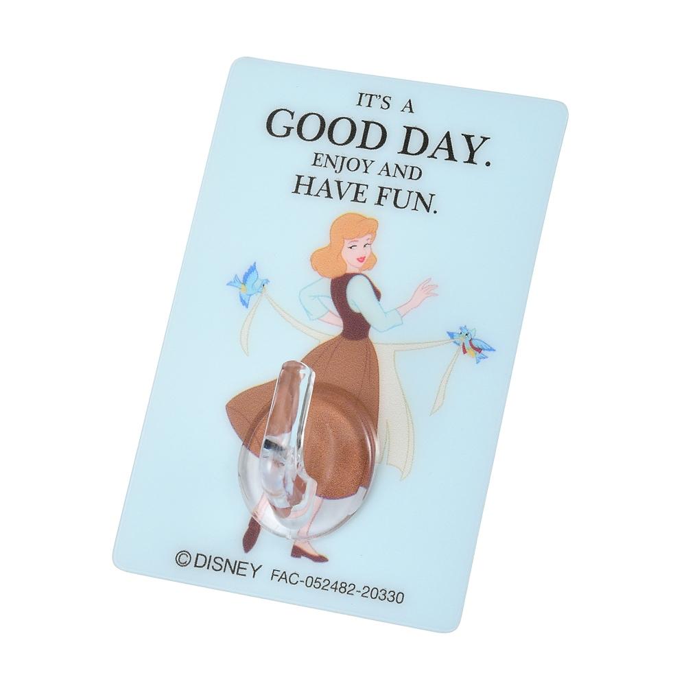 シンデレラ&青い鳥 フック シールタイプ 貼ってはがせる It's a good day!