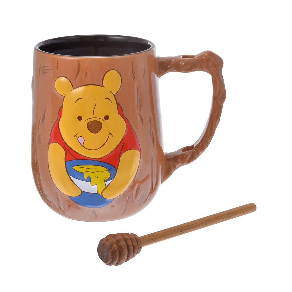 プーさん マグカップ・マドラー Winnie the Pooh And The Honey Tree 55th Anniversary