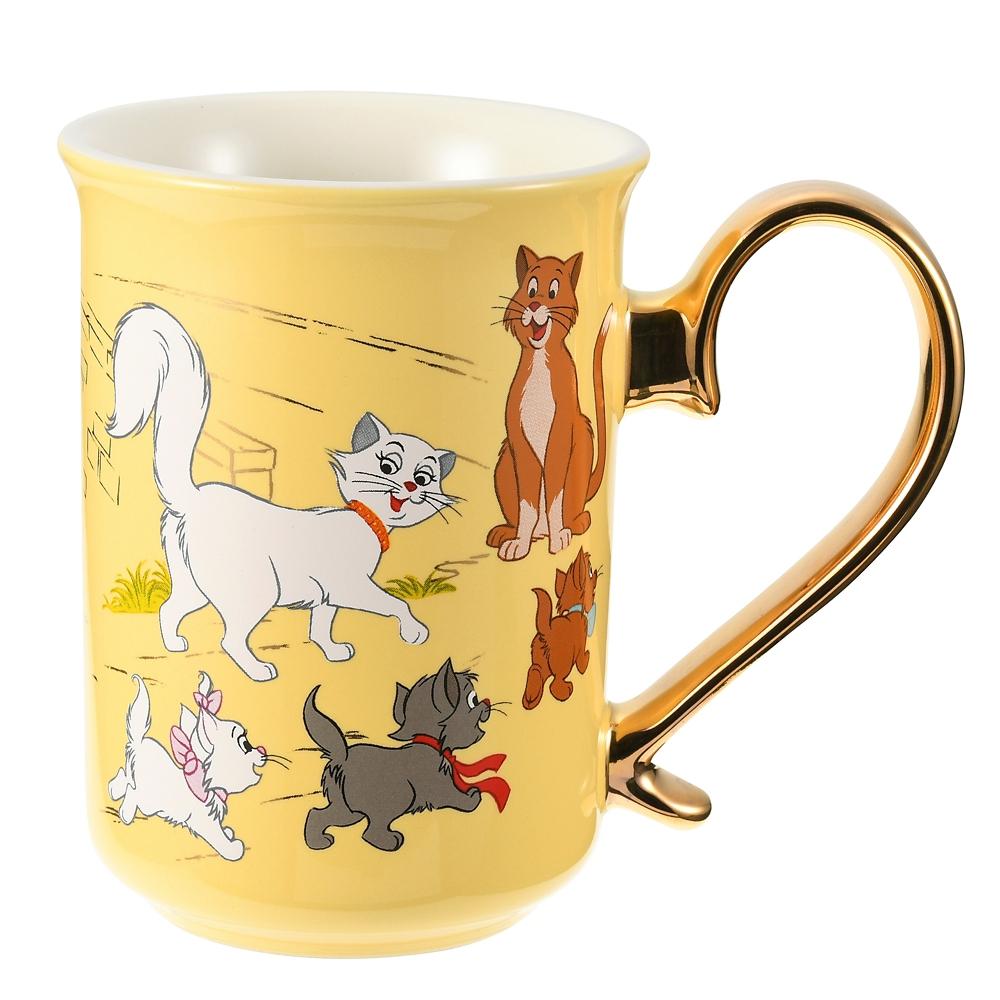 マリー おしゃれキャット マグカップ I Love MY Disney CAT