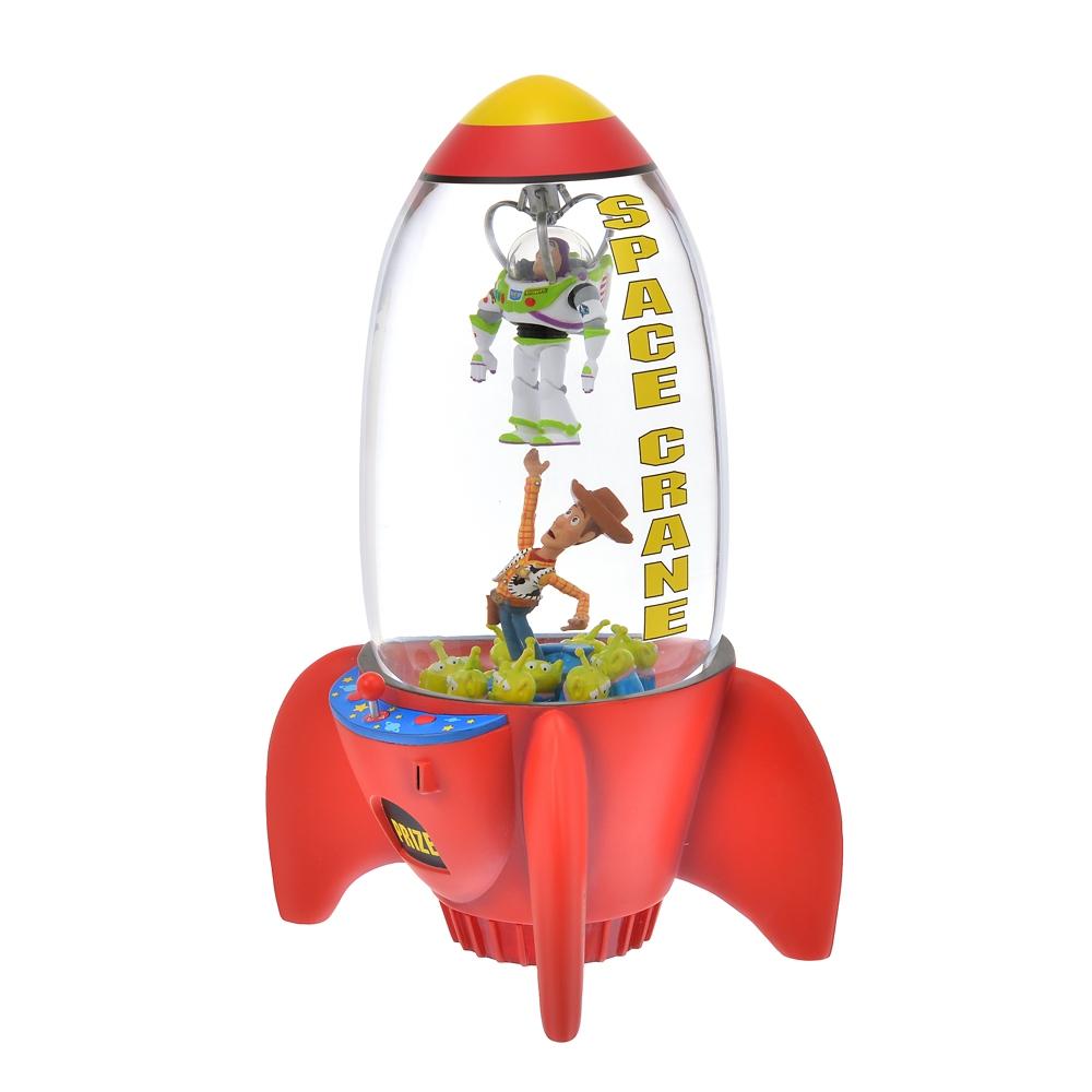 トイ・ストーリー スノードーム ライトアップ スペースクレーン Toy Story 25th
