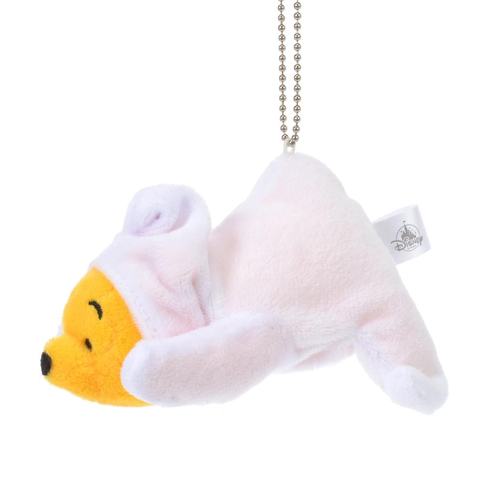 プーさん ぬいぐるみキーホルダー・キーチェーン 寝そべり The Wishing Bear