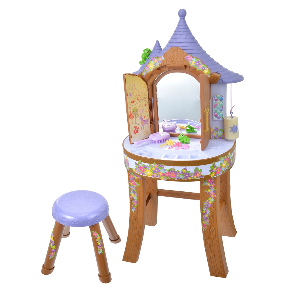 塔の上のラプンツェル おもちゃ バニティ・スツール セット