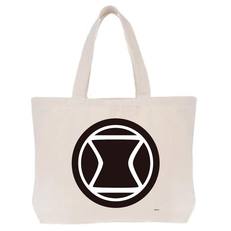 【D-Made】トートバッグ  MARVEL アイコン ブラック・ウィドウ