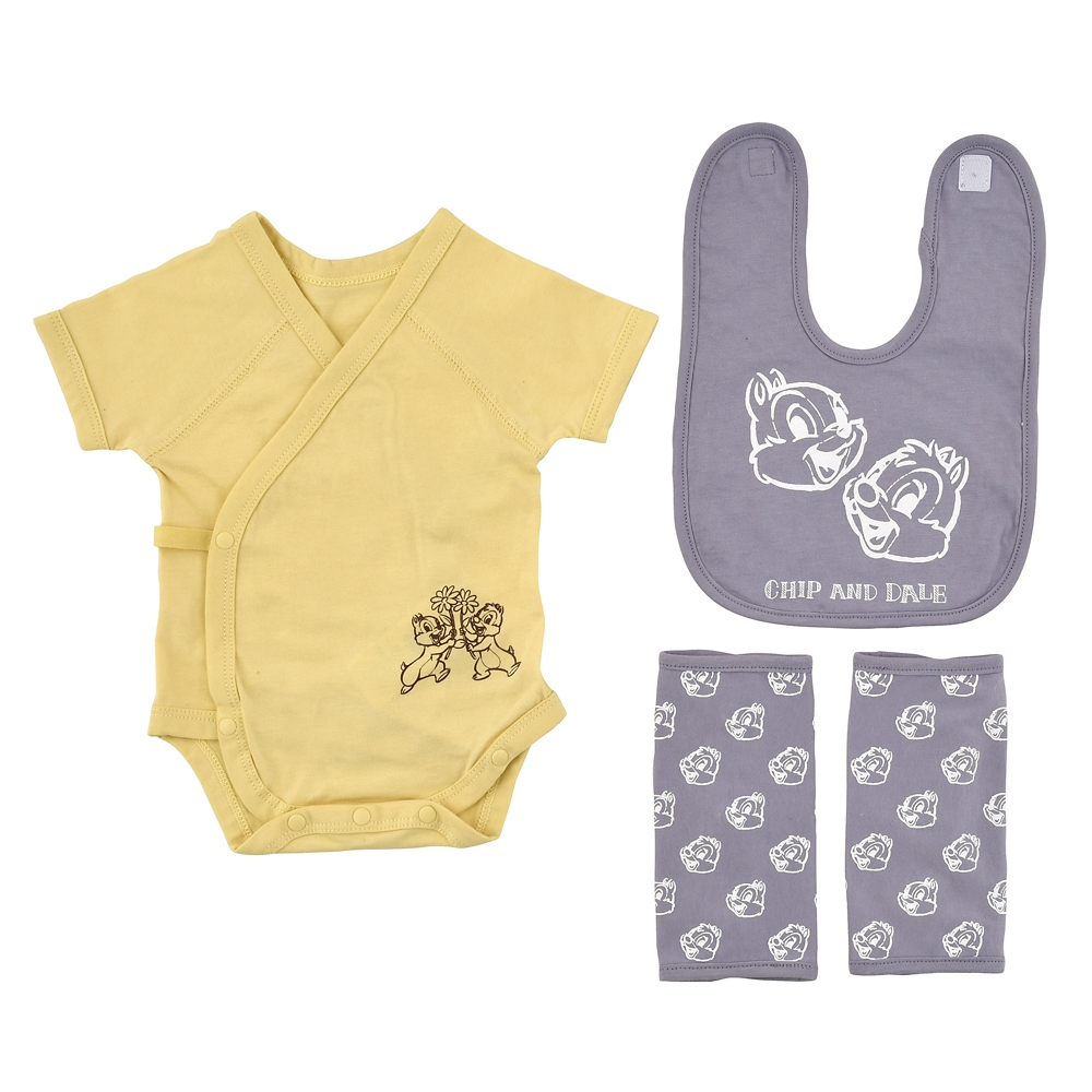 【FOOD TEXTILE】チップ&デール BABY GIFT 3点セット Chip&Dale FOOD TEXTILE