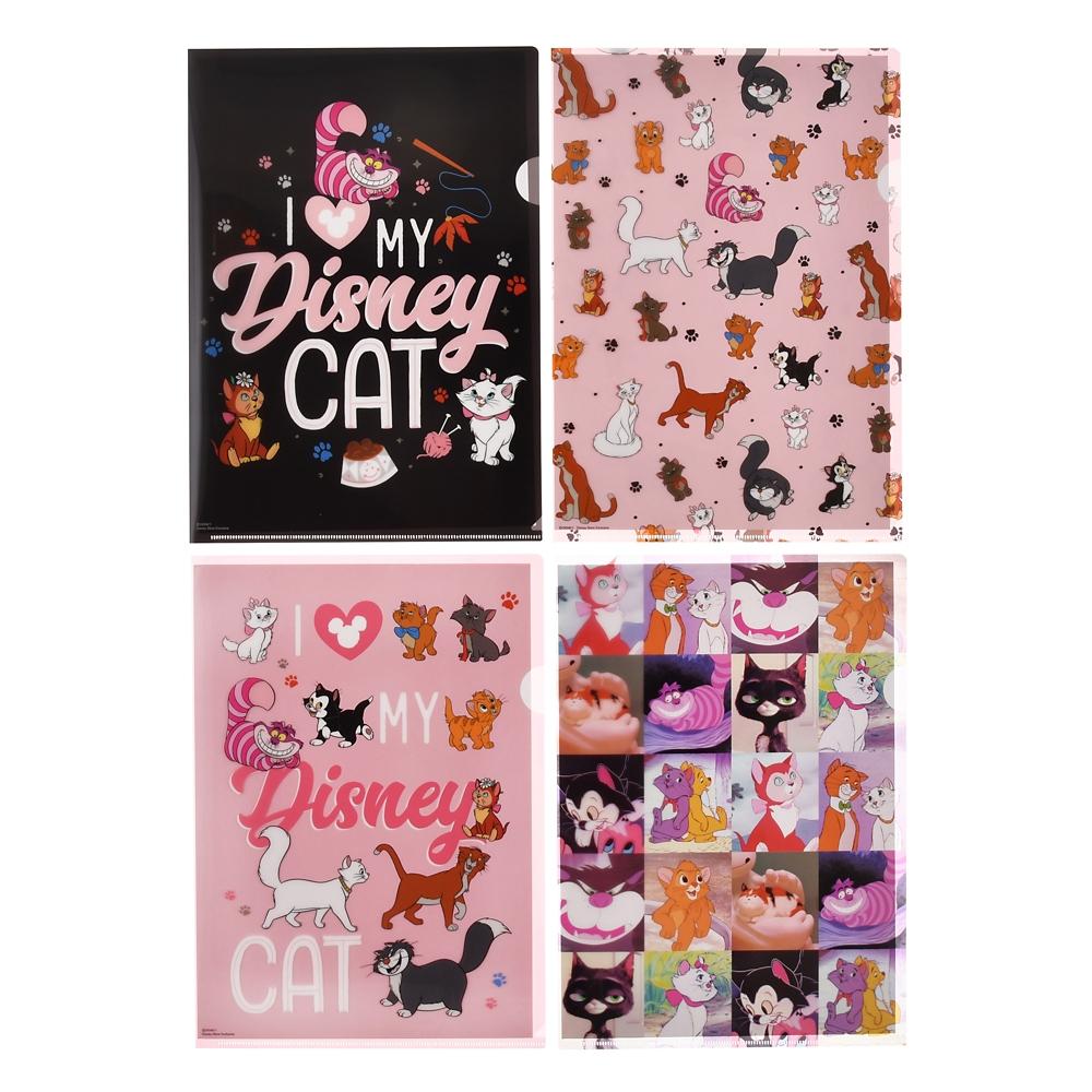 ディズニーキャラクター クリアファイル I Love MY Disney CAT