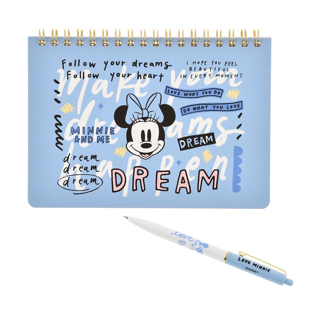ミニー ボールペン・ノート セット Disney ARTIST COLLECTION by Kelly Park