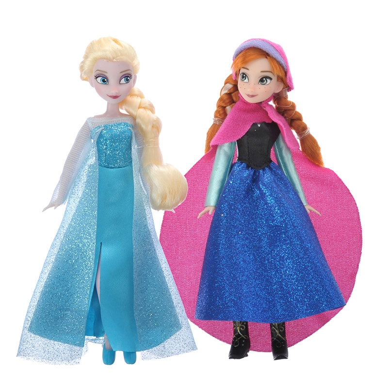 ディズニー ワードローブフィギュアセット アナと雪の女王