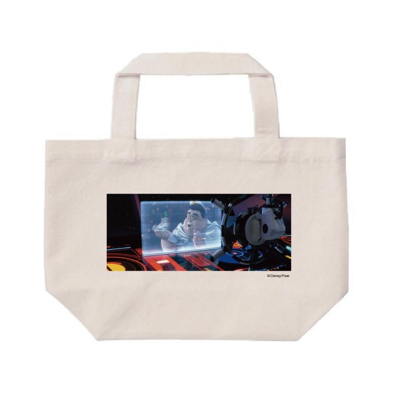 【D-Made】ミニトートバッグ  映画 『WALL・E』 ウォーリー 館長/B・マックリー&オート