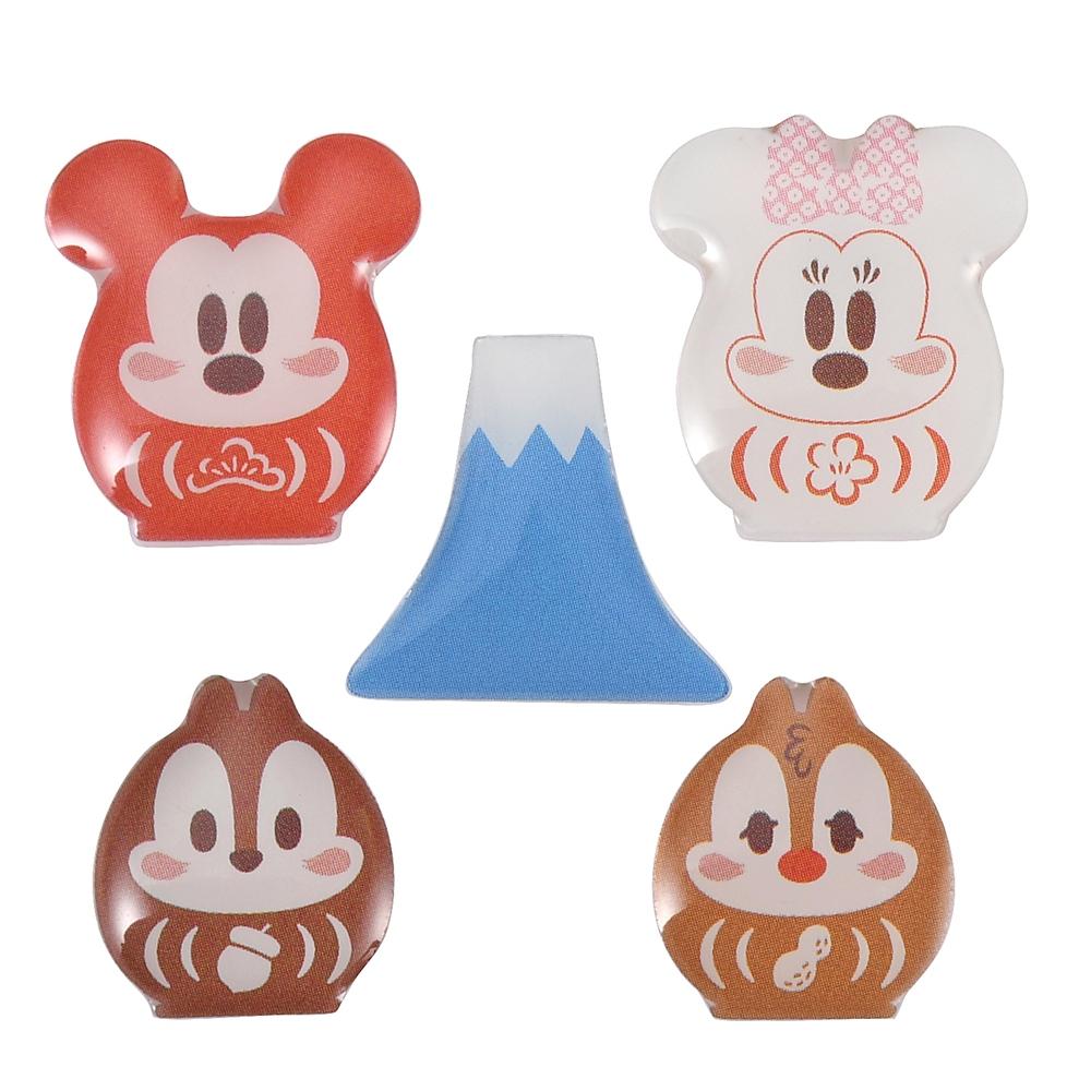 ミッキー&フレンズ ピアス セット だるま Eto Disney 2021