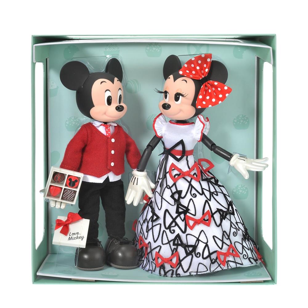 ミッキー&ミニー フィギュア Chocolate
