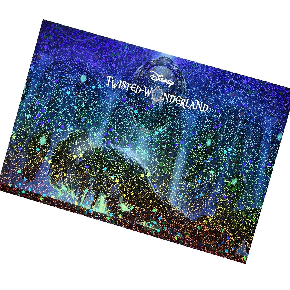 マレウス・ドラコニア ポストカード キーアート第1弾 『ディズニー ツイステッドワンダーランド』