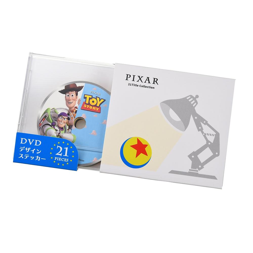 ピクサーキャラクター シール・ステッカー DVDデザイン