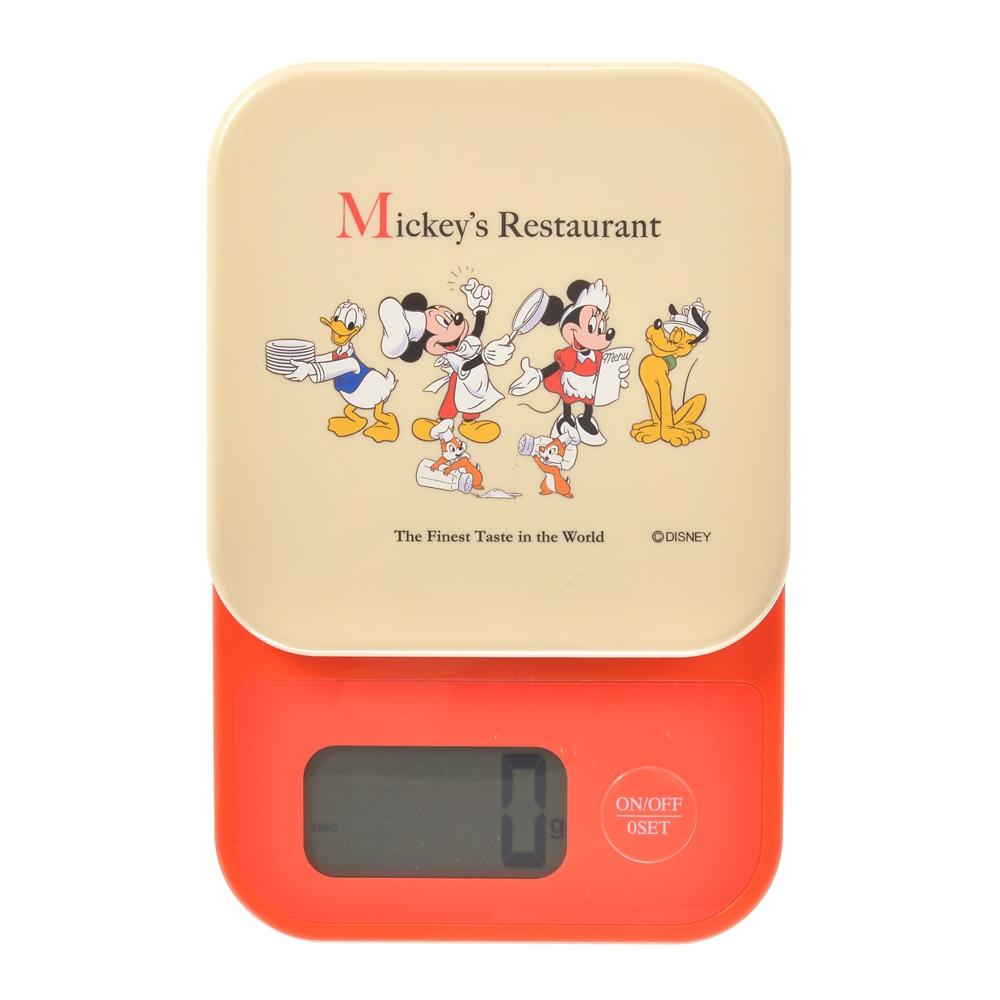 ミッキー&フレンズ デジタルキッチンスケール Retro Kitchen