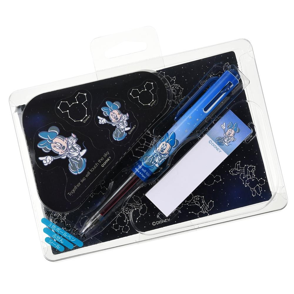 ミニー&フィガロ ステーショナリーセット ポストカード付き Starry sky