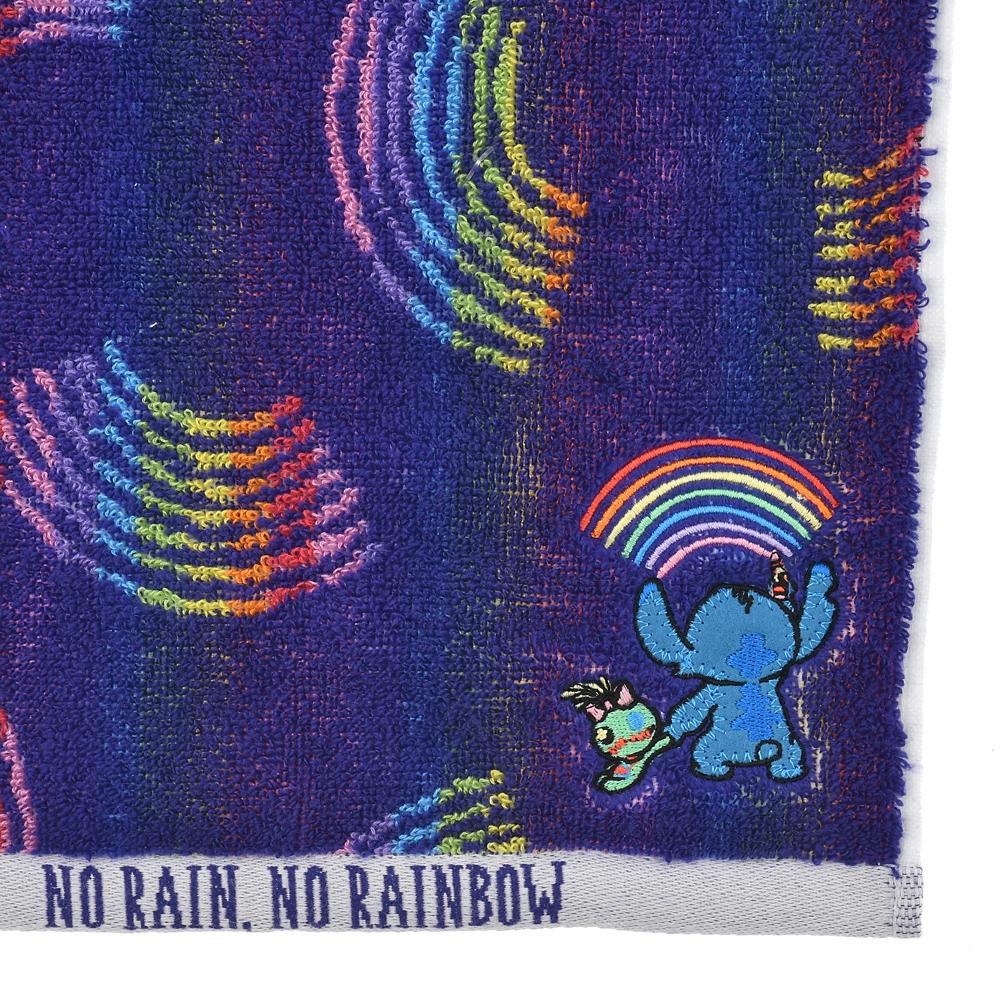 スティッチ&スクランプ ミニタオル Rainy Day 2021