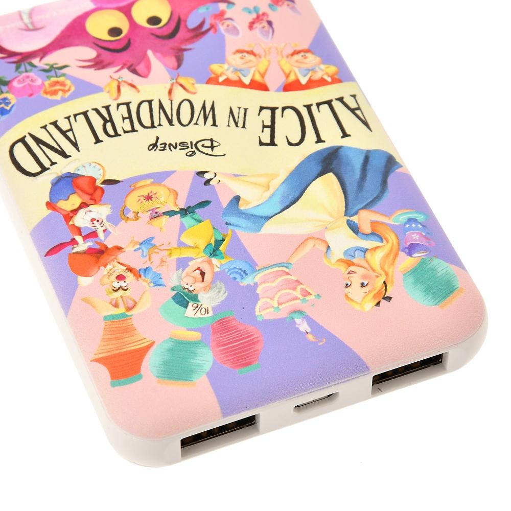 ふしぎの国のアリス モバイルバッテリーチャージャー Alice in Wonderland 70