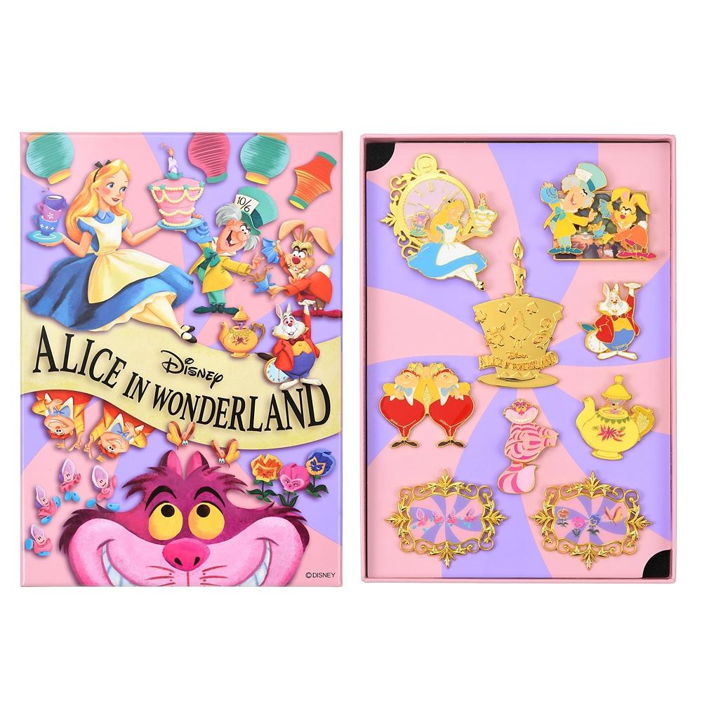 ふしぎの国のアリス ピンバッジ セット Alice in Wonderland 70