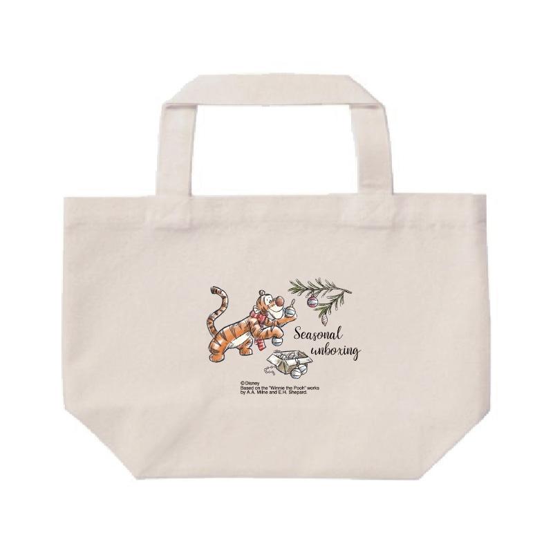 【D-Made】ミニトートバッグ  くまのプーさん ティガー クリスマス