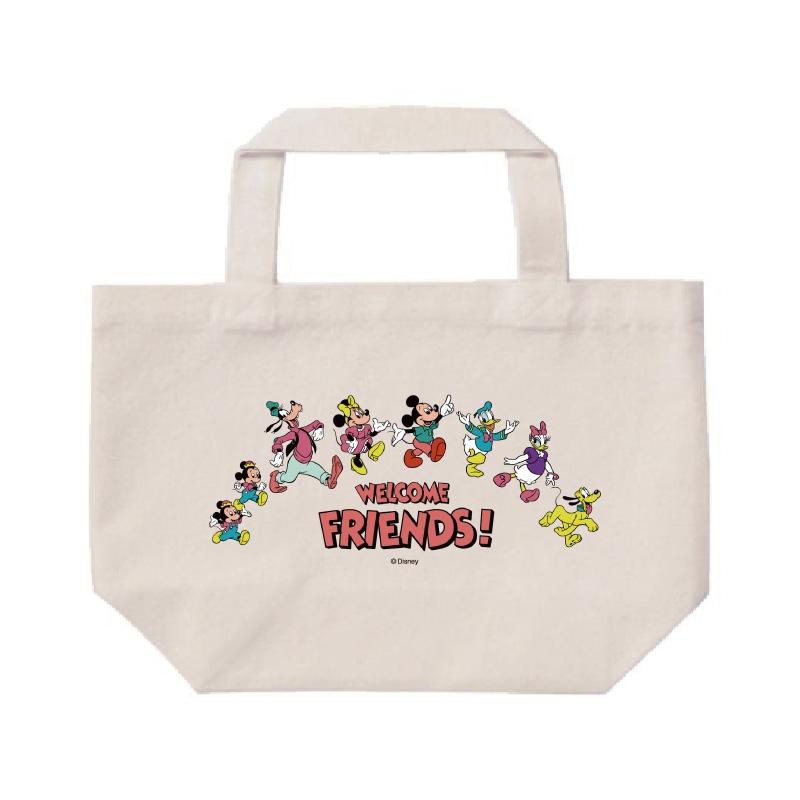【D-Made】ミニトートバッグ  ミッキー&フレンズ