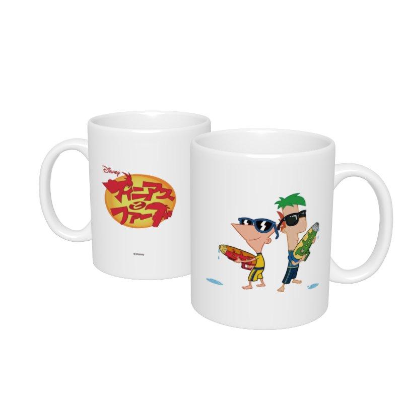 【D-Made】マグカップ  フィニアスとファーブ