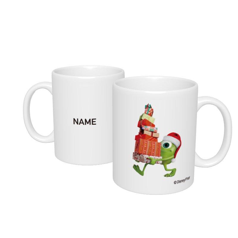 【D-Made】名入れマグカップ  モンスターズ・ユニバーシティ マイク クリスマス