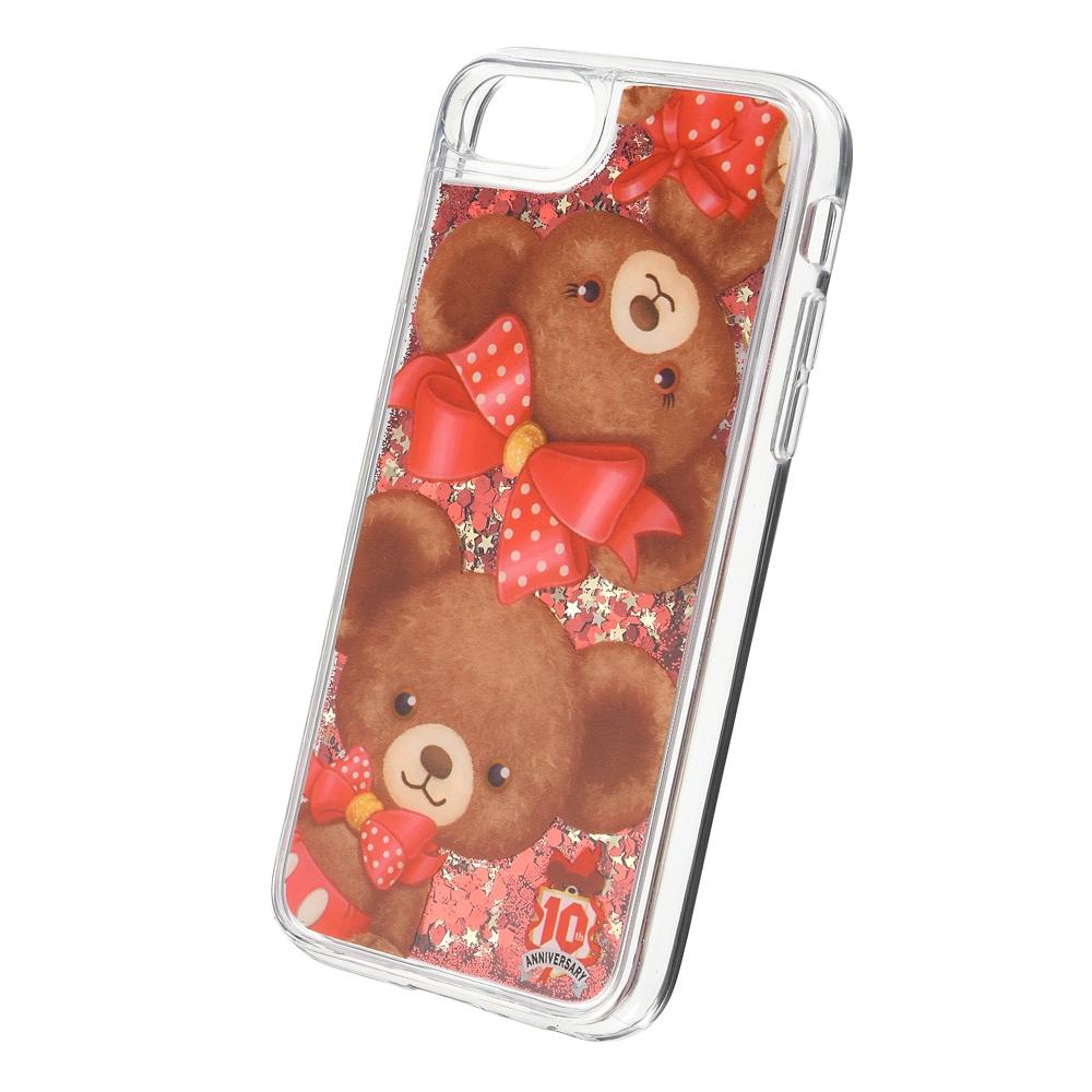 ユニベアシティ モカ&プリン iPhone 6/6s/7/8/SE(第2世代)用スマホケース・カバー UniBEARsity 10th Anniversary