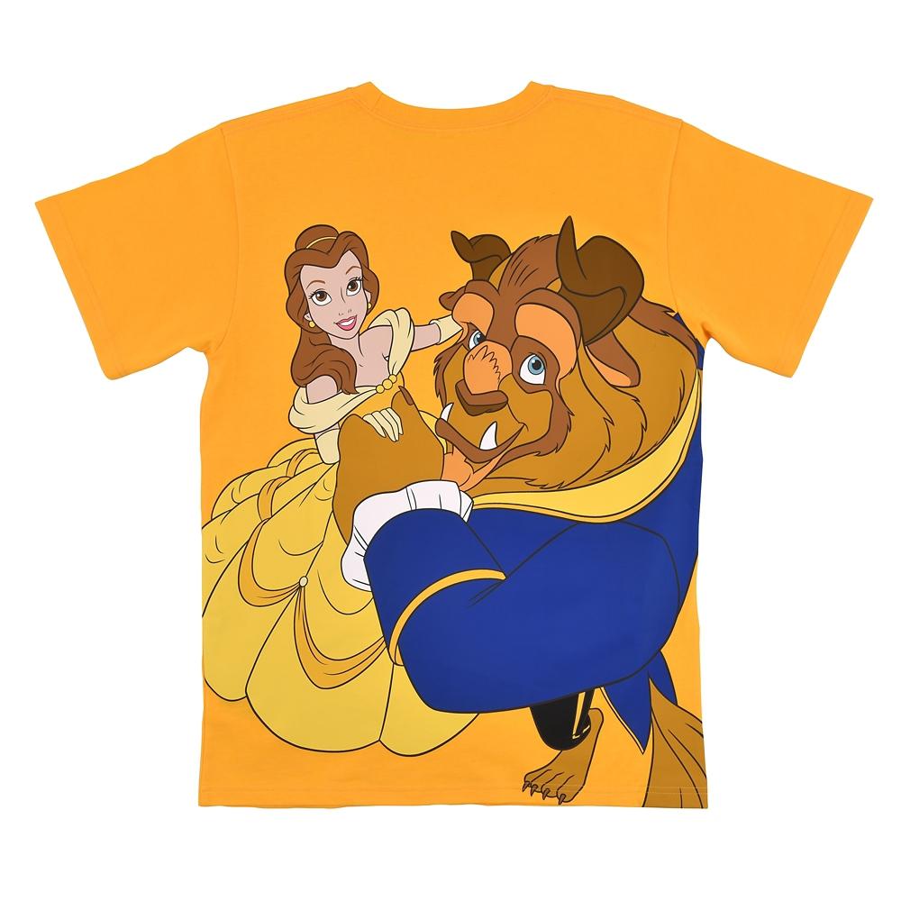 美女と野獣 半袖Tシャツ バックプリント photogenic