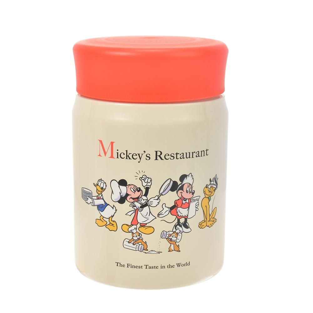 ミッキー&フレンズ フードポット Retro Kitchen