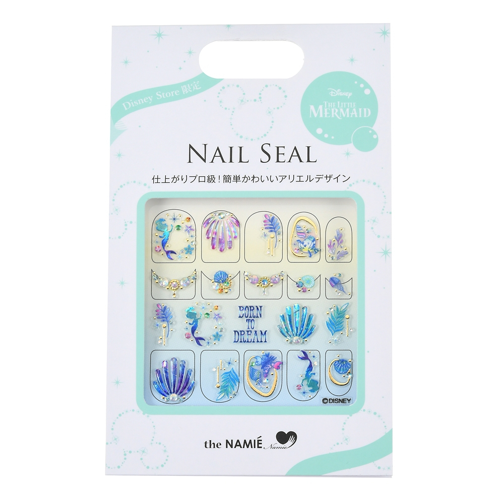 【the NAMIE nail art collection】アリエル、フランダー、セバスチャン ネイルシール Born To Dream