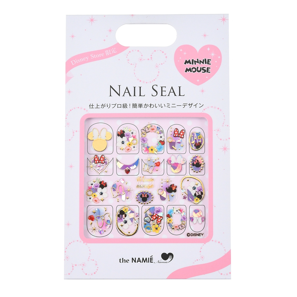 【the NAMIE nail art collection】ミニー ネイルシール アイコン