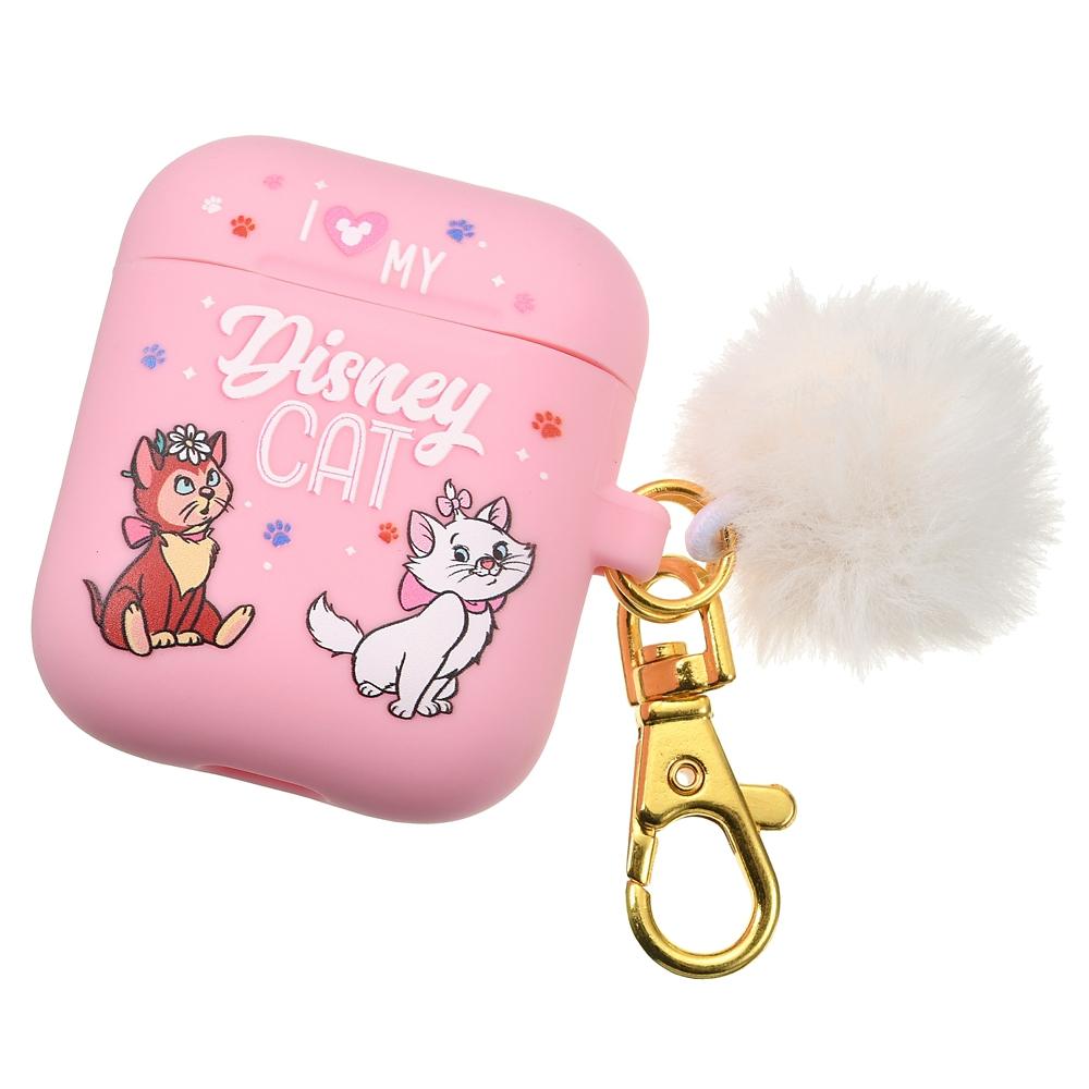 おしゃれキャット マリー、ダイナ、チェシャ猫 AirPods用ケース I Love MY Disney CAT