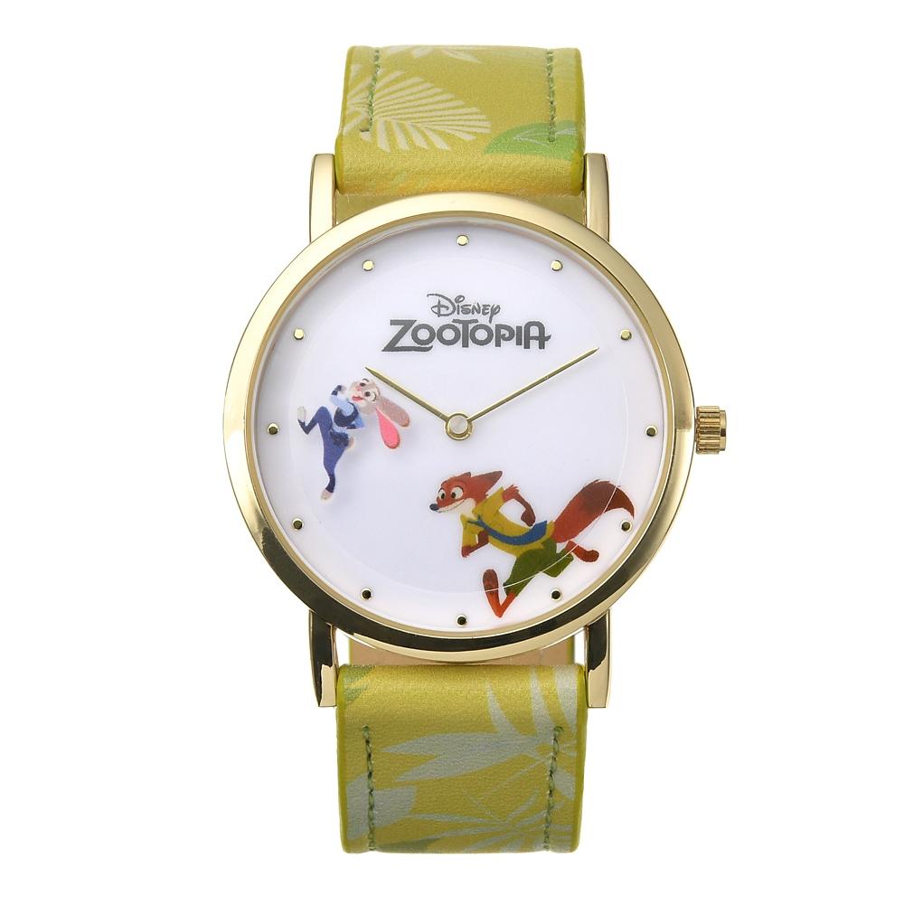 【送料無料】ジュディ・ホップス&ニック・ワイルド 腕時計・ウォッチ ディズニー映画『ズートピア』